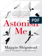 Astonish Me by Maggie Shipstead - Extract