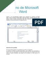 Entorno de Microsoft Word