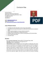 CV Shibu Clement January 2014