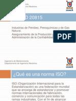 ISO 20815 Jose Ugalde 2012