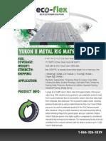 Yukon Rig Mats Brochure