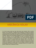 Mecanica Solar
