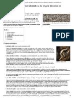 Anexo_Lista de Expressões Idiomáticas de Origem Histórica Ou Mitológica – Wikipédia, A Enciclopédia Livre