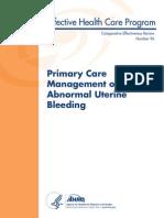 Abnormal Uterine Bleeding 130321