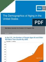 Demographics of Aging