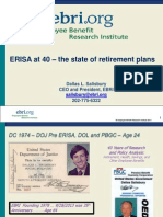 Past and Future of Private Retirement Options