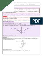 Comment montrer qu'une courbe admet un axe de symétrie ?