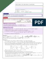 Comment résoudre une équation complexe ?
