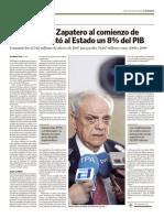 Gestion Zapatero Crisis - El Economista