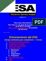 ESA Training English