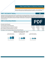New York 2013 Progress Report on E-Prescribing