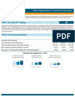 Washington 2013 Progress Report on E-Prescribing