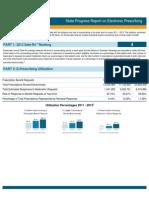 Wisconsin 2013 Progress Report on E-Prescribing