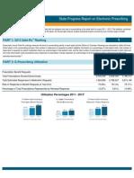 Delaware 2013 Progress Report on E-Prescribing