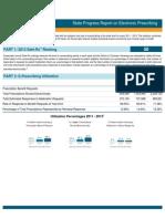 District of Columbia 2013 Progress Report on E-Prescribing
