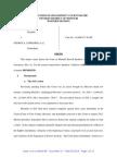 Court Order Denying Stay & Dismissing Bucklew v Lombardi