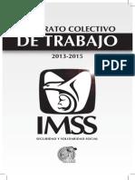 Instituto Mexicano del Seguro Social Contrato Colectivo de Trabajo 2013 2015