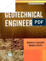 Geotechnic by Datta and Ghulati