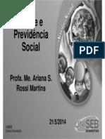 SVSC 6_2 Saude e Previdência Social Aula7 Un7
