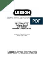 Manual Speedmaster Dcvariable