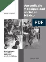 INEE-Aprendizaje y Desigualdad Social en México