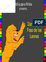 Daniel and the Lions Den Spanish