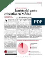 MEXICO EVALÚA-Una Evaluación Del Gasto Educativo en México