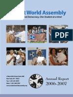 SWA Report 2007