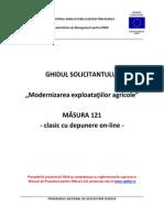 Ghidul_solicitantului_masura 121 Depunere Online