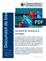 Human Rights Working Paper 18 Nov 08 FRENCH