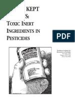 Worst Kept Secrets - Toxic Inert Ingredients in Pesticides - NCAP
