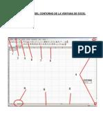 Descripción Del Contorno de La Ventana de Excel Yule
