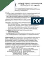 SI 1201 - Planificación de La Asignación