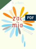 Zac and Mia Excerpt (Zac) by A.J. Bett