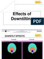 Downtilt Effects