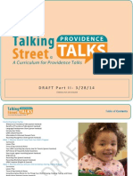 Providence Talks Curriculum Part II