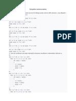 Test Grilă Cu Vectori Şi Matrice