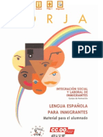Español para inmigrantes.Proyecto Forja