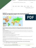 Publican Un Mapa de Las Mujeres Más Atractivas Del Mundo – RT