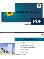 Data Migration Techniques in Sap ABAP