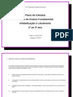 Plano de Estudos - Pacto2014