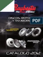 Discos Rotores 2012