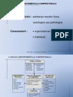 T3 - Comportamentul Consumatorului PowerPoint