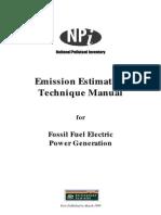 Australia Ffossilfuel