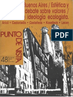 Sarlo. Sociologia Mercado y Estetica
