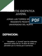 Artritis Idioptica Juvenil Jorge Uninorte