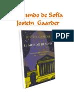 El Mundo de Sofía Jostein