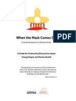 """When the Mask Comes Off"" Community Discussion Guide"