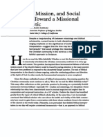 Michael Barram - Bible Mission and Social Location Hermeneutic