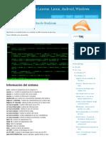 Comandos Linux